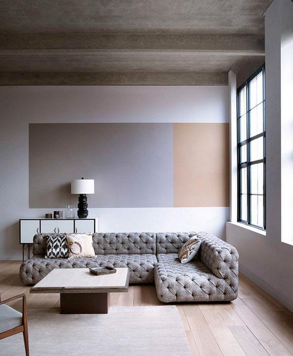 стиль минимализм в интерьере квартиры на фото