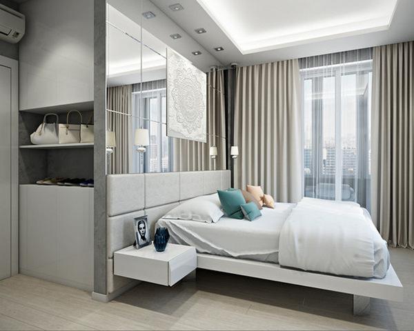 стиль минимализм в интерьере квартиры студии