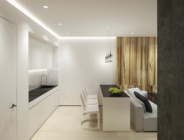 стиль минимализм в интерьере маленькой квартиры фото