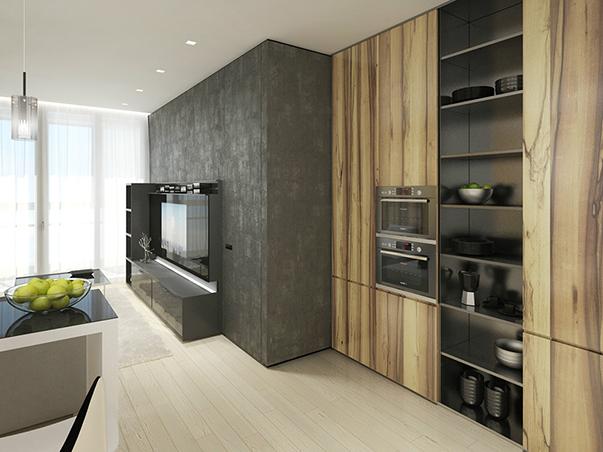 стиль минимализм в интерьере маленькой квартиры на фото