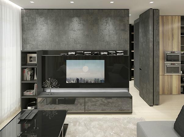 стиль минимализм в интерьере маленькой квартиры