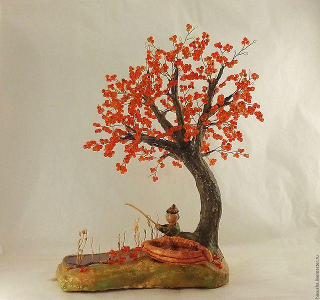 цветы и флористика осенняя композиция