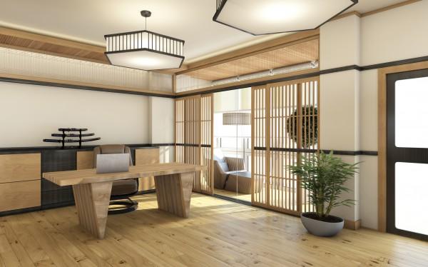 японский минимализм в интерьере квартиры реальные фото