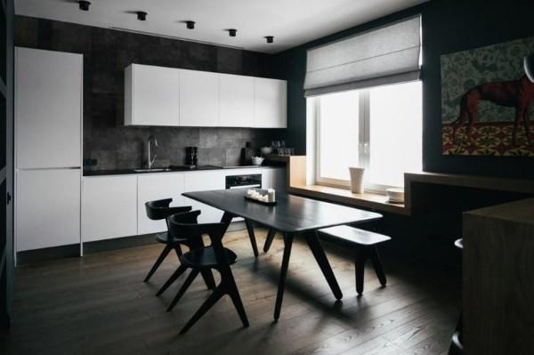 декор кухни в стиле минимализм