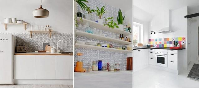 дизайн кухни в скандинавском стиле коллаж