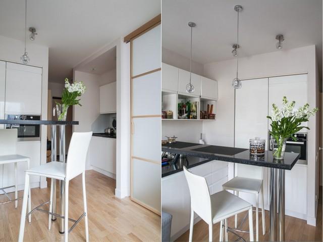 дизайн проект кухни с барной стойкой