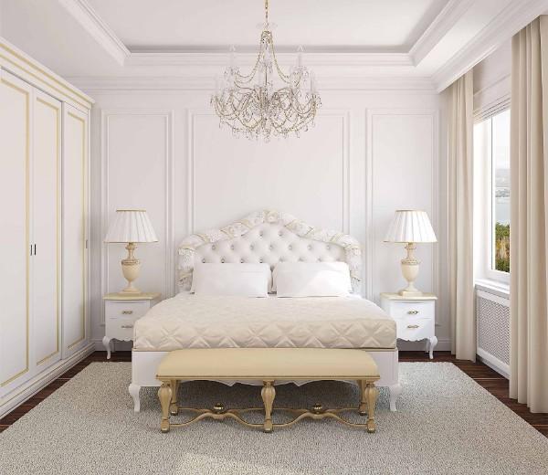 дом во французском стиле дизайн спальни