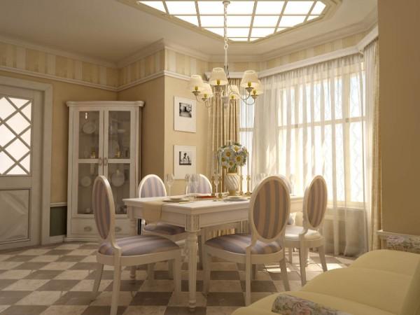 дом во французском стиле интерьер гостиной в цвете шампань