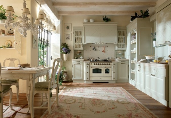 дом во французском стиле прованская кухня