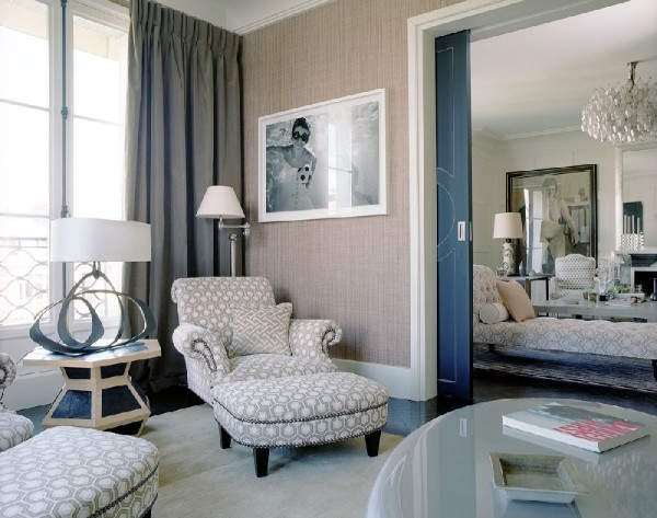 дом во французском стиле текстиль и обивка