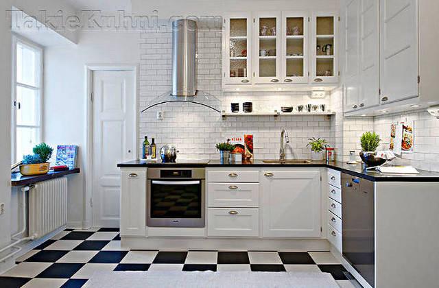 фартук для кухни в скандинавском стиле