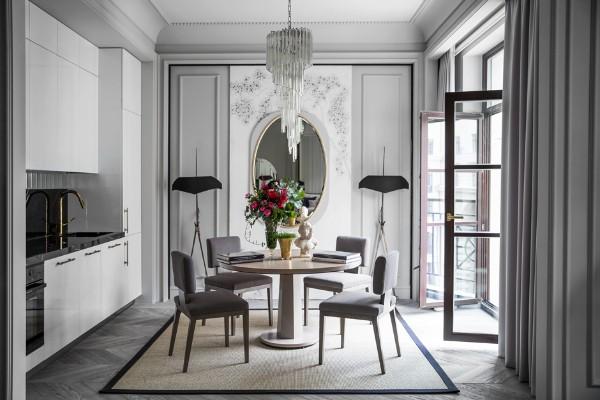 французский стиль в интерьере сдержанный дизайн