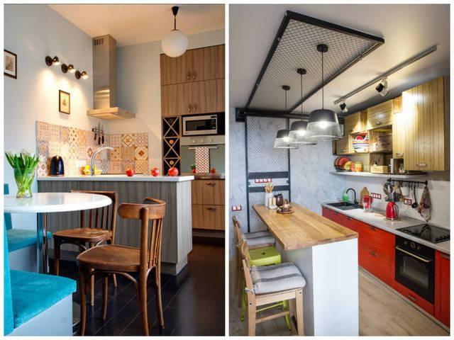 идеи дизайна кухни с барной стойкой