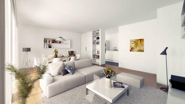 интерьер квартиры студии в стиле минимализм