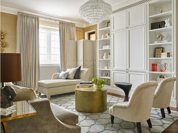 изысканная гостиная во французском стиле