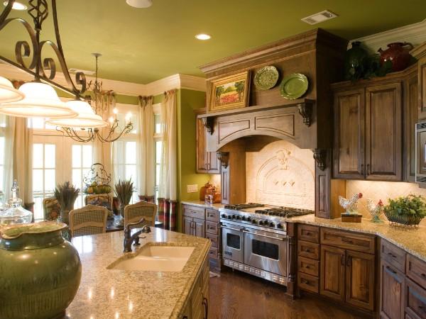 изысканная кухня во французском стиле мебель из массива дуба