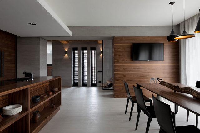 кухни студии в частном доме