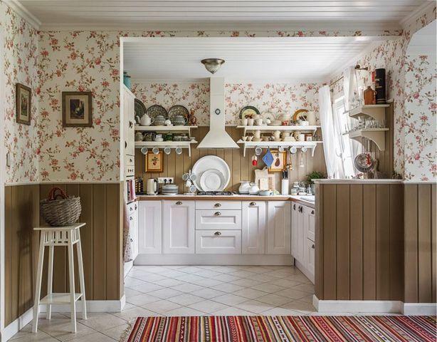 кухня студия дизайн интерьера прованс