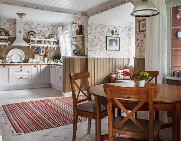 кухня студия дизайн интерьера в стиле прованс