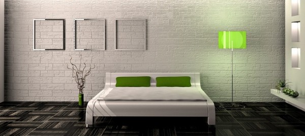 лаконичный дизайн интерьера спальни в стиле минимализм