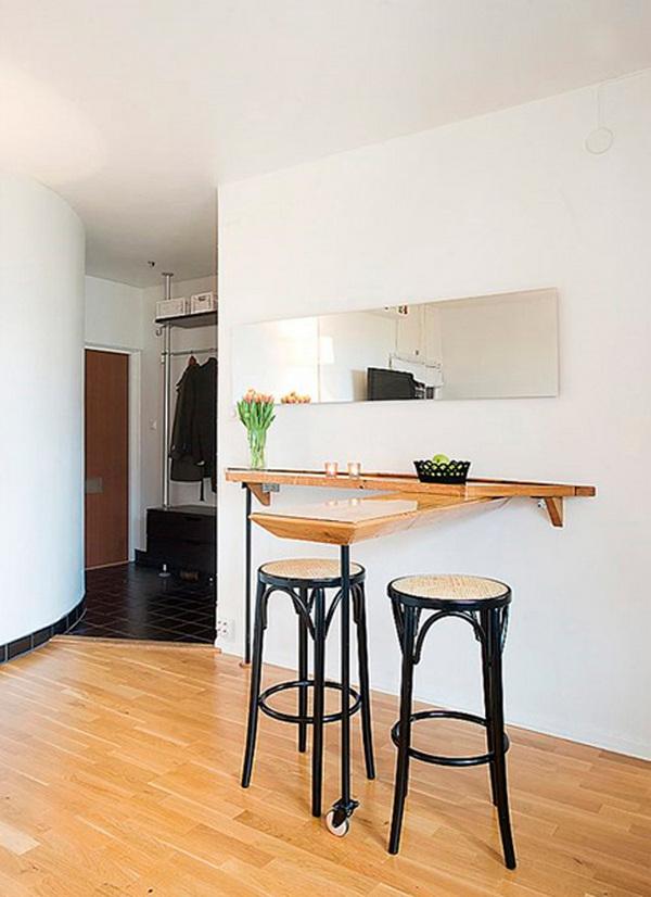 маленькие кухни с барной стойкой дизайн