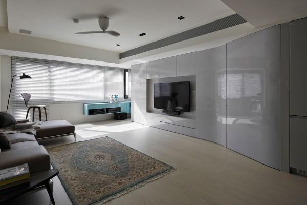 минималистический интерьер гостиной с идеями модерна