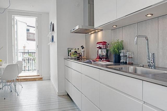 прекрасный дизайн современной двухкомнатной квартиры в сером