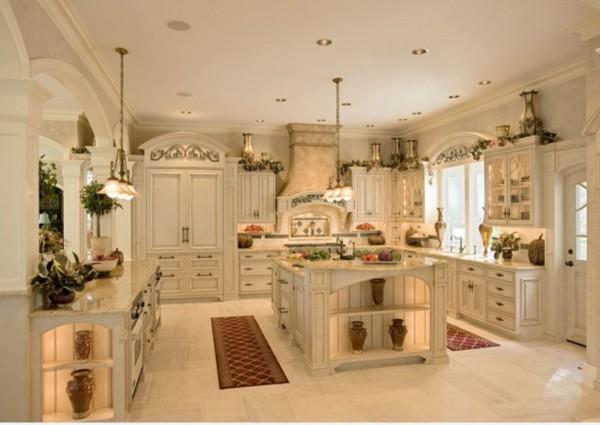 шикарная кухня во французском стиле