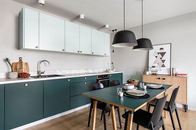 светлая современная квартира в скандинавском стиле