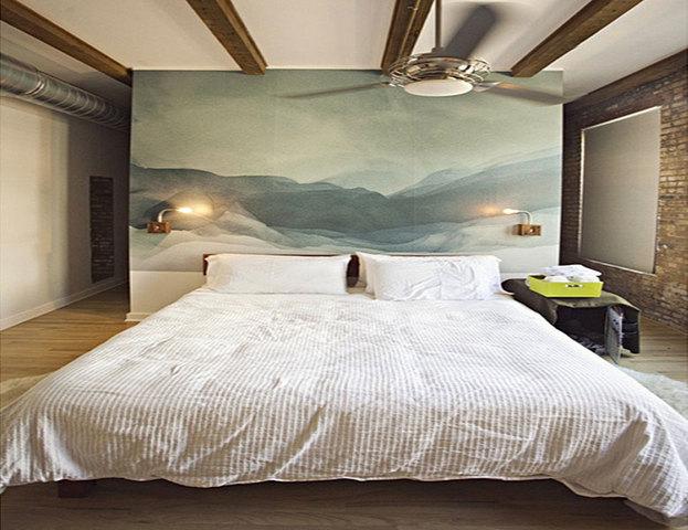 креативный дизайн изголовья кровати