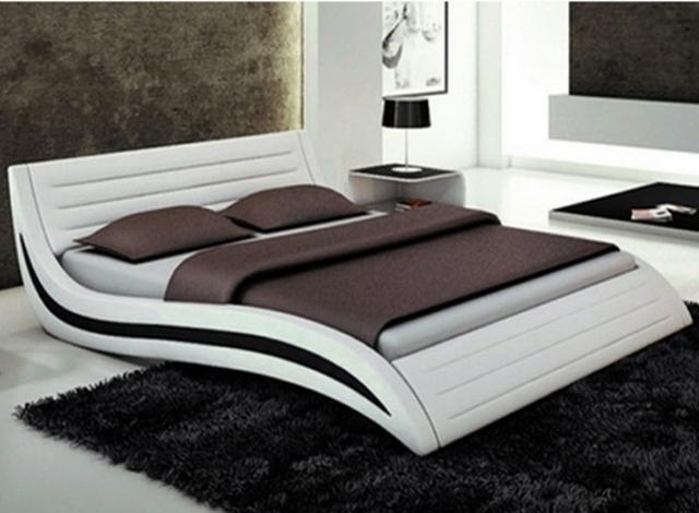 кровать в спальни хай тек
