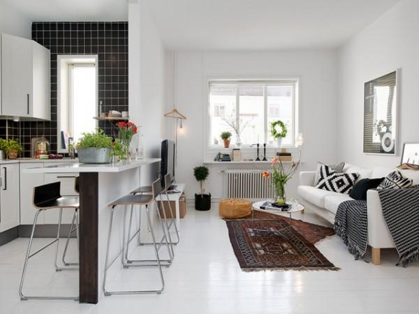 скандинавский стиль в интерьере дизайн студии