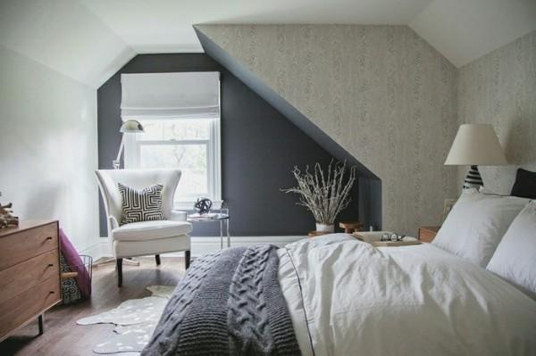 скандинавский стиль в интерьере спальни любопытный дизайн