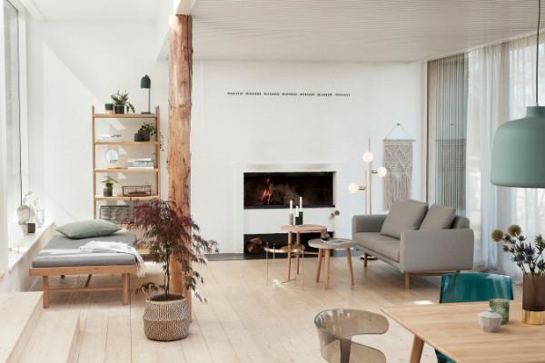 скандинавский стиль в интерьере вариант дизайна