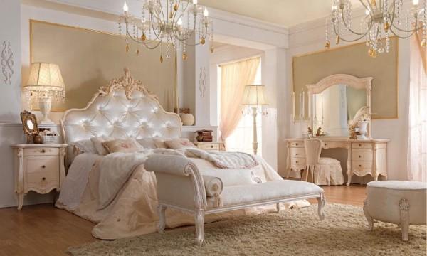 сочетание цветов в интерьере спальни персиковый белый