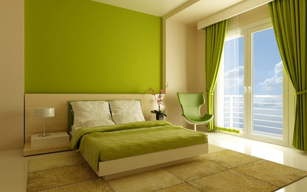 сочетание цветов в интерьере спальни сочетание цветов в интерьере спальни светло-зелёный