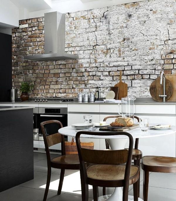 современные обо для кухни в стиле лофт