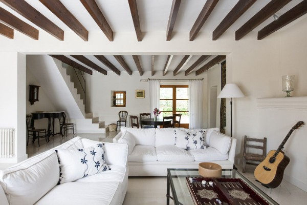 дизайн мансардного этажа деревянного дома