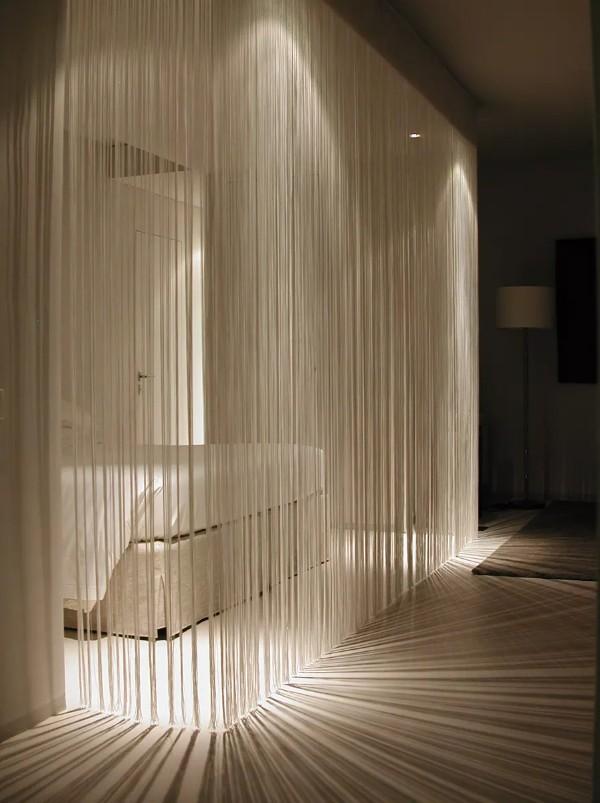 кремовые шторы нити в интерьере шторы нити в интерьере спальни