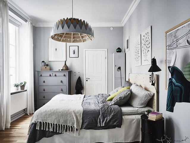 люстра в спальню в скандинавском стиле