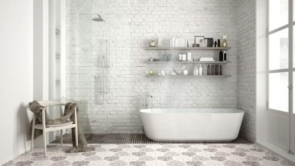 скандинавский стиль в интерьере в интерьере ванной дизайн в светлых тонах