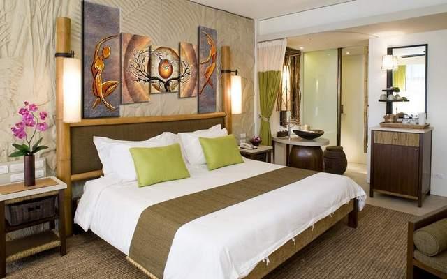 спальни с двуспальной кроватью