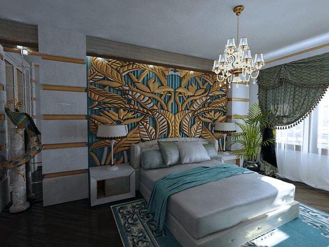 спальня в роскошном стиле арт деко какую мебель выбрать