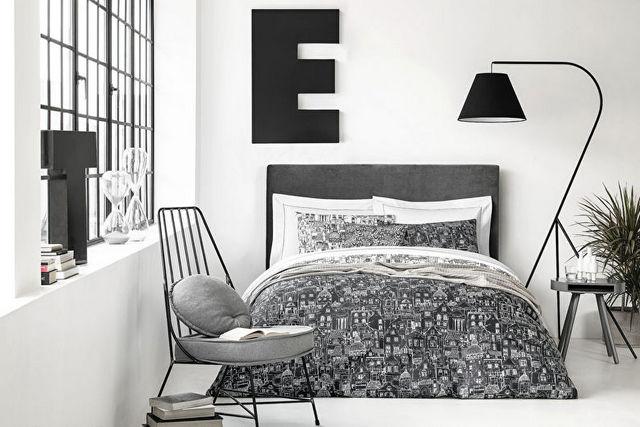 спальня гостиная в скандинавском стиле фото