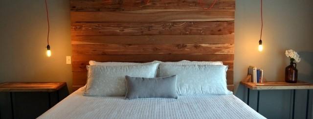 спальня изголовье кровати дизайн фото