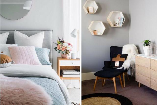 спальня в скандинавском стиле мелочи