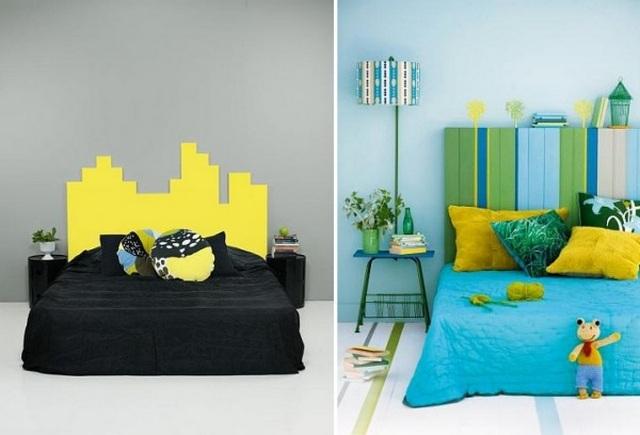 стена в спальне над кроватью идеи