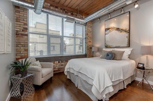 освещение для спальни в стиле лофт