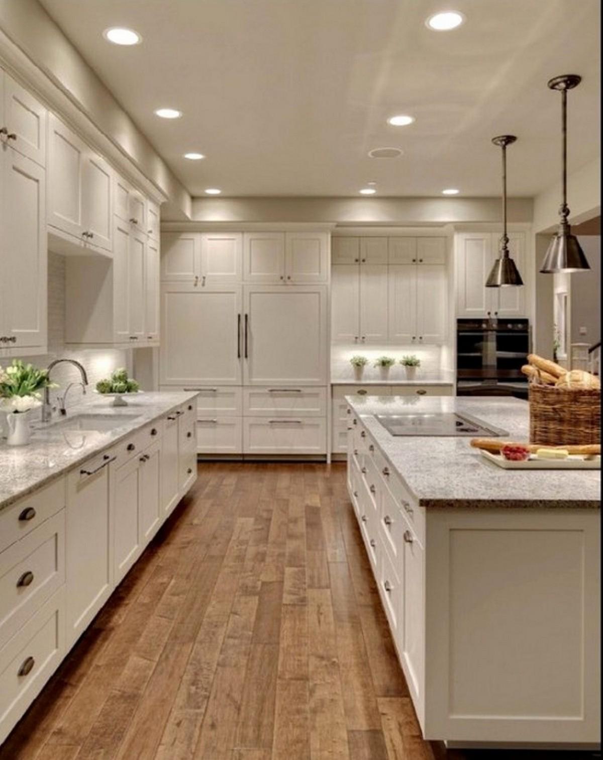 белая кухня кухня в английском стиле современный вариант дизайна