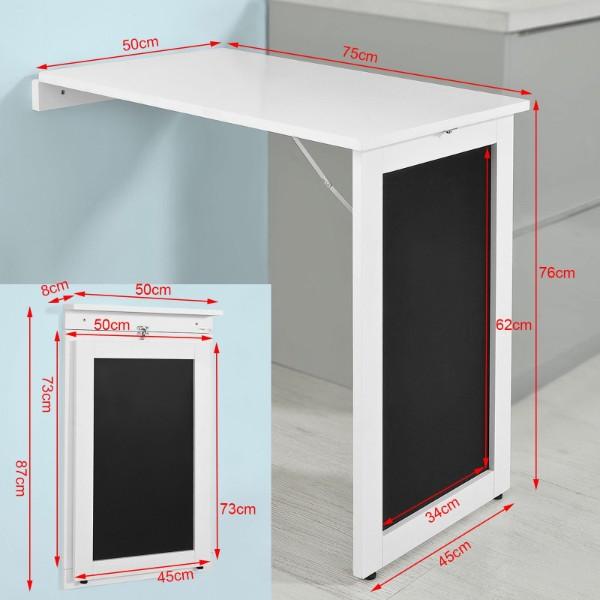 белый раскладной стол